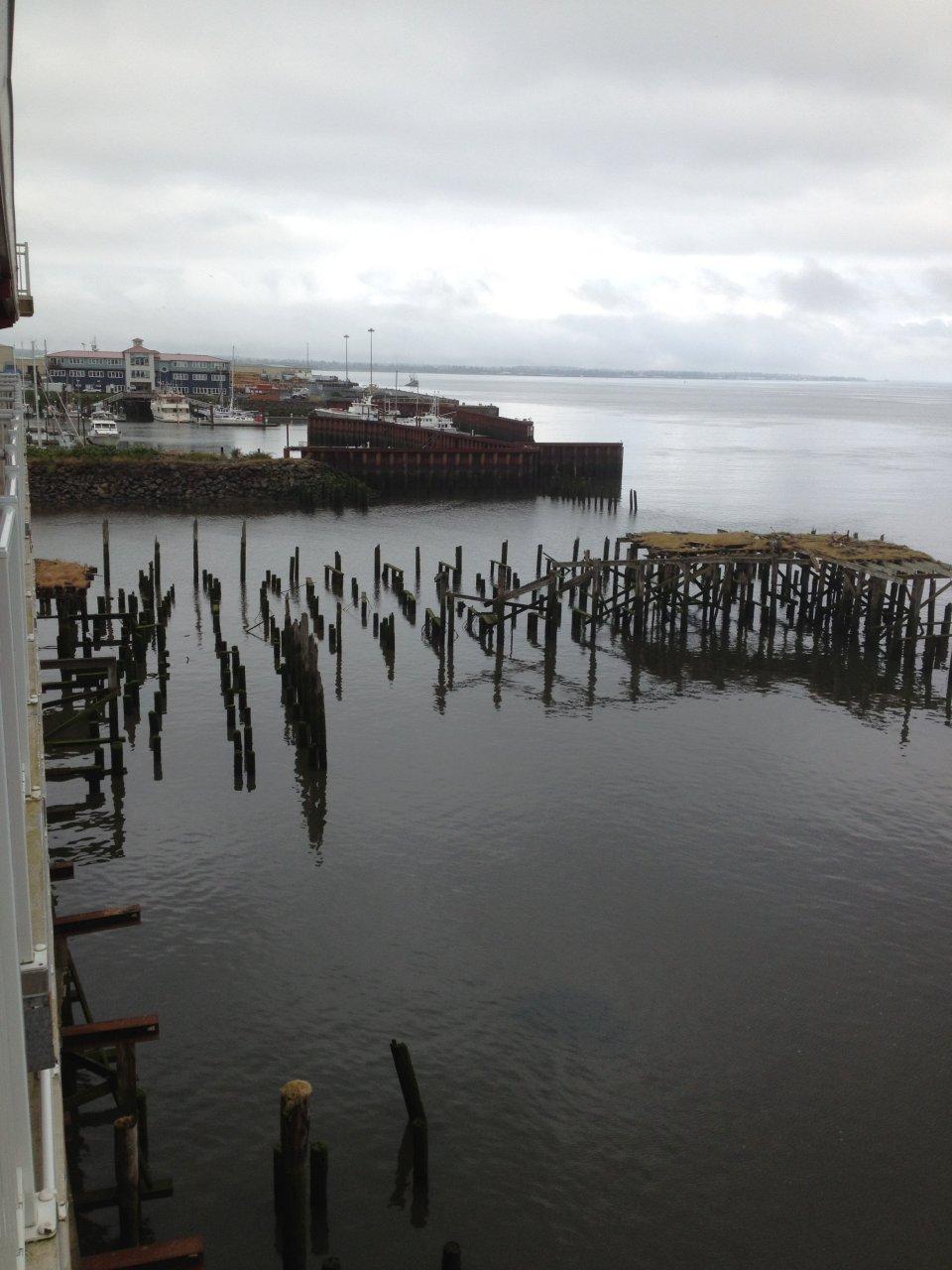 Empty pilings