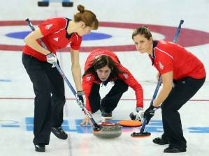 Curling British Women
