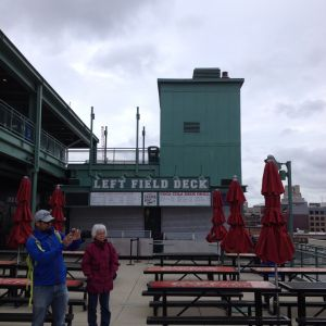 Fenway Left Field Deck