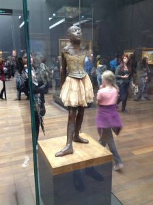 """Small Dancer Aged 14"" - Edgar Degas. Because art."