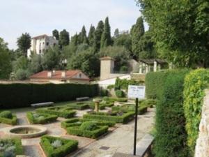 monastery garden