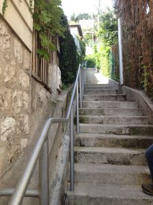 Stairs in Nice